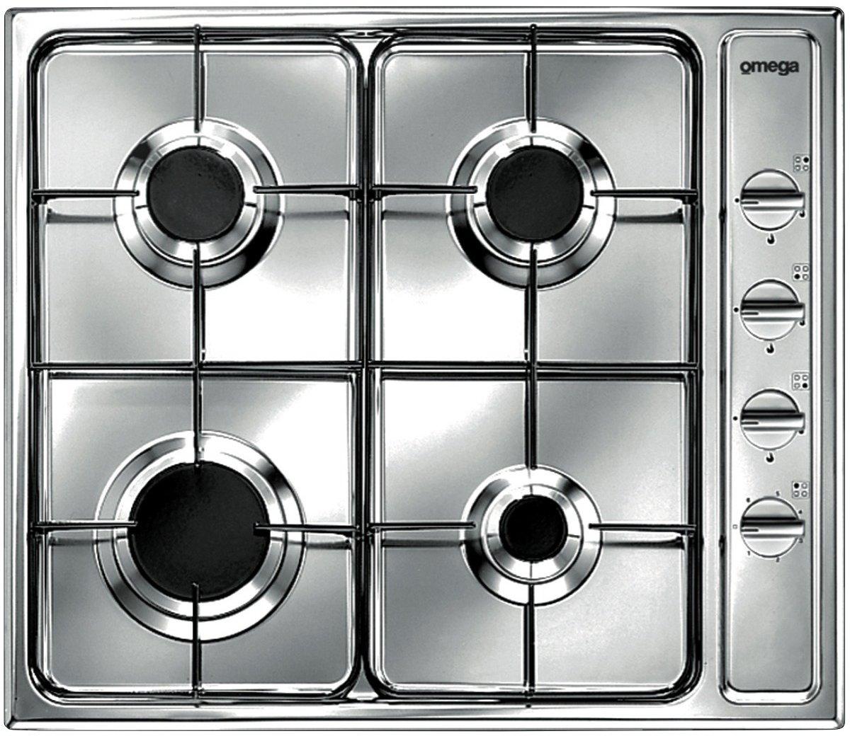 Omega OG60XA 60cm Natural Gas Cooktop | Appliances Online