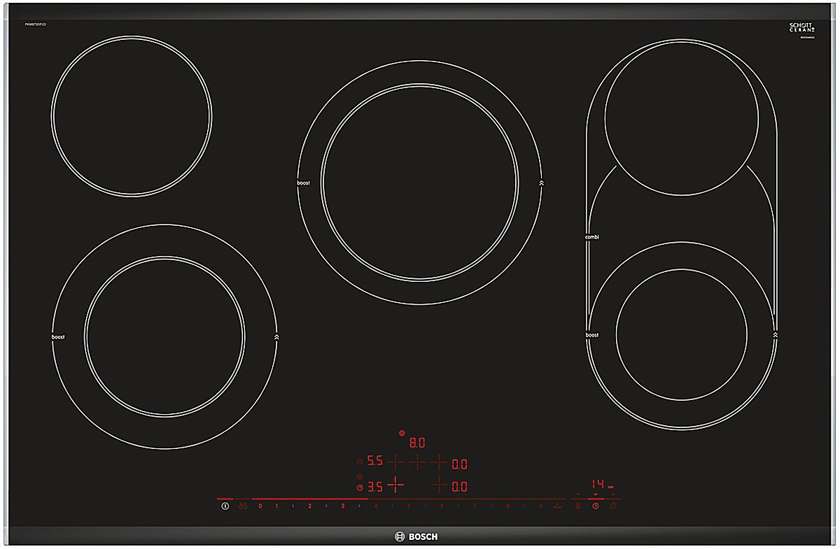Bosch PKM875DP1A 80cm Serie 8 Ceramic Electric Cooktop | Appliances Online