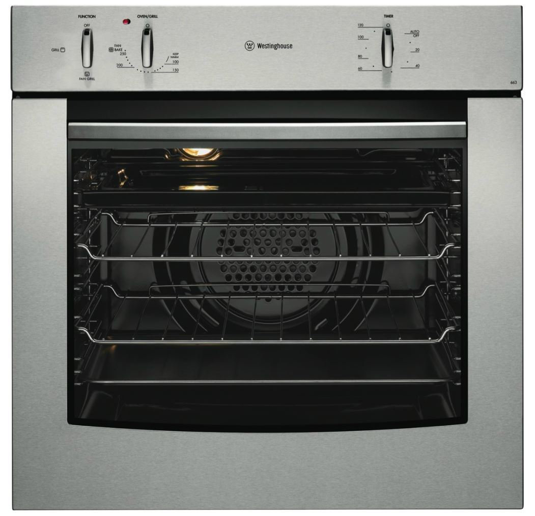 Westinghouse POR663S 60cm Electric Built-In Oven. Unfortunately, this  product is not available.
