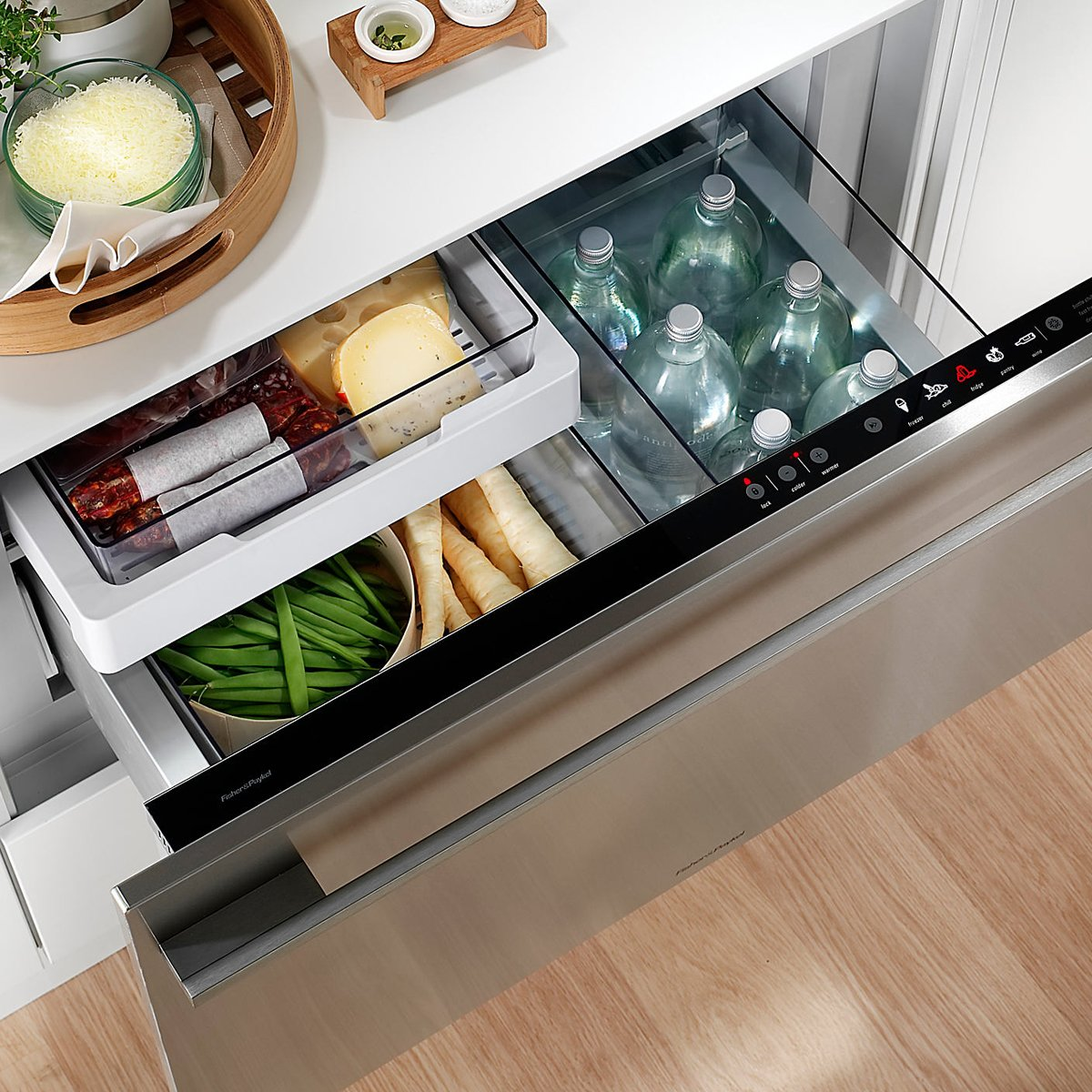 Fisher Paykel Rbsmkiw L Integrated Fridge Drawer Product Video