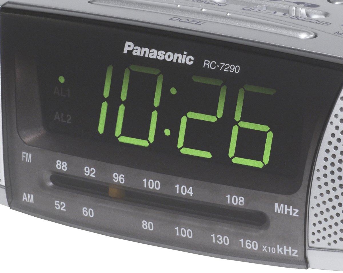 Panasonic Rc Fm Clock Radio