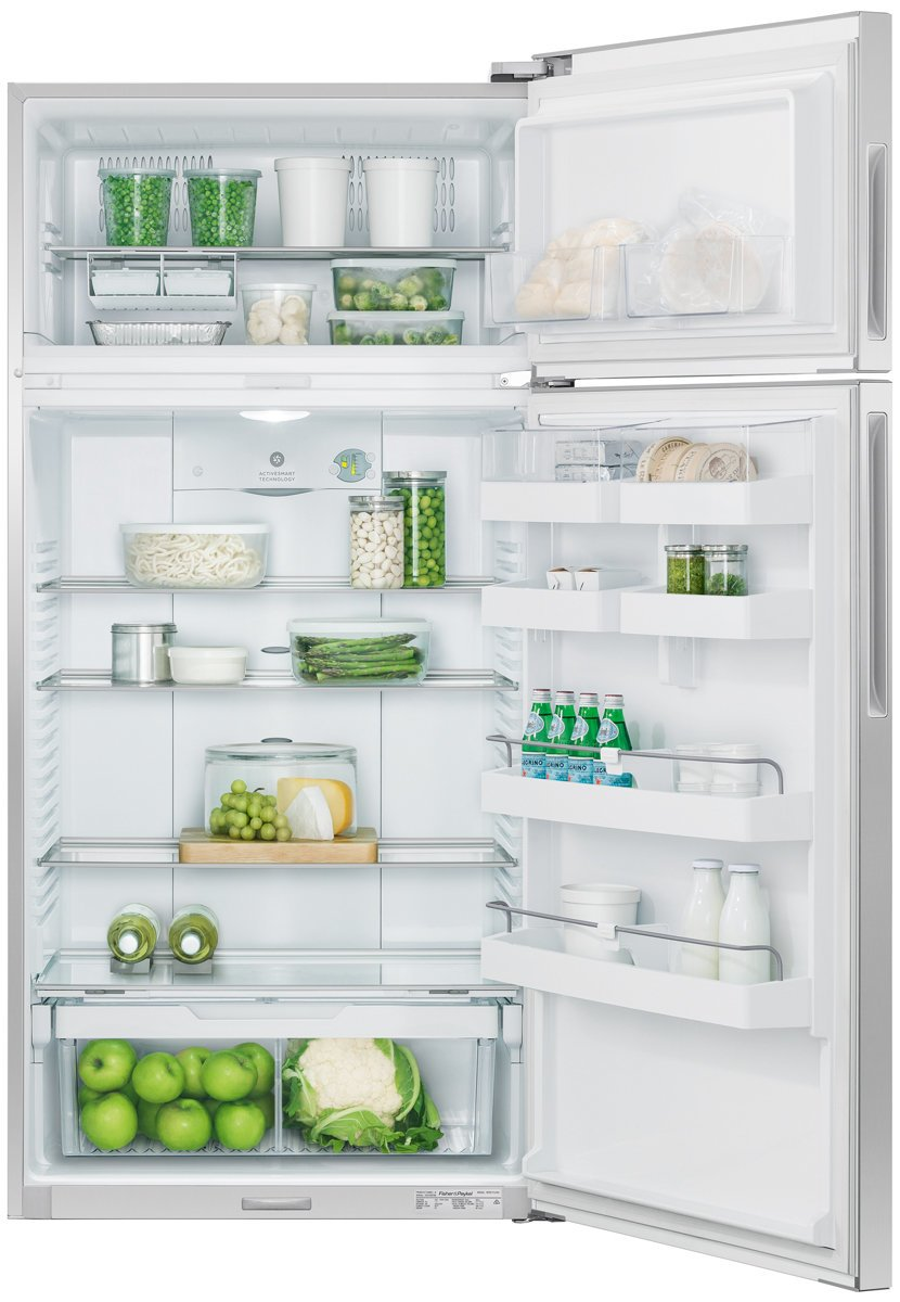 fisher u0026 paykel rf521trpx6 517l top mount fridge