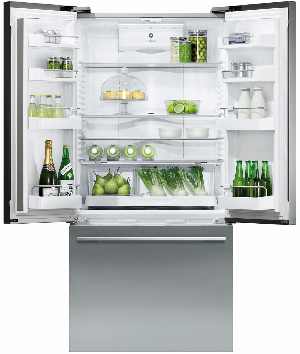 Fisher and paykel french door fridge reviews - Fisher Paykel Rf522adusx5 519l French Door Fridge