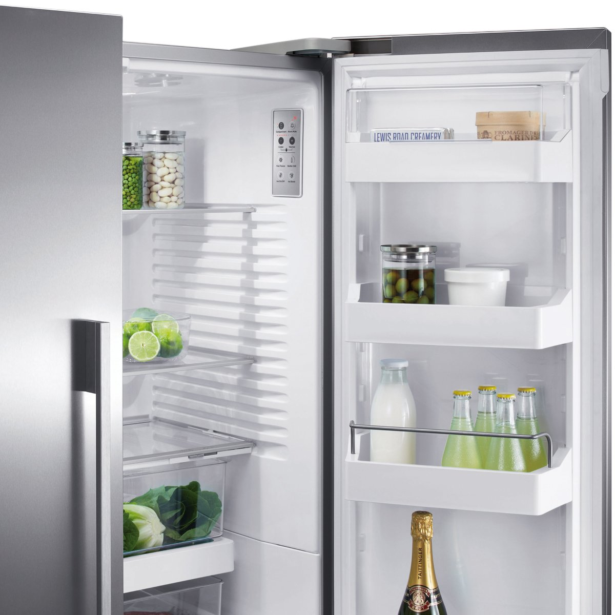 Fisher and Paykel RF610ADUSX4 614L 3 Door Fridge | Appliances Online
