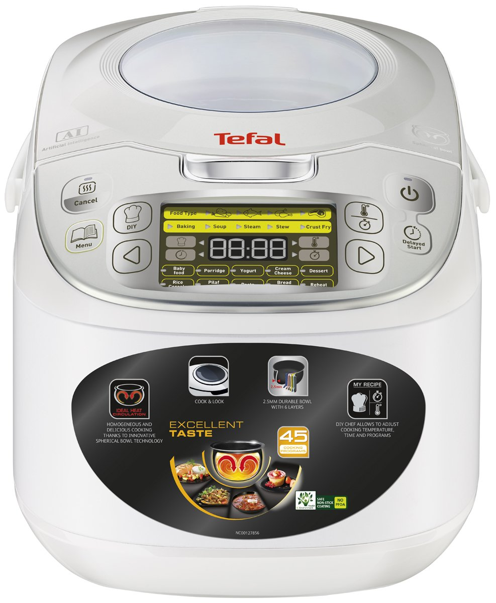 New Tefal Rk812 45 In 1 Rice And Multi Cooker Rice Cookers Ebay 185 How To Cook  Rice In Pressure Cooker