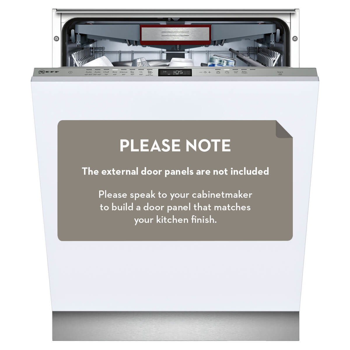 f5d187d4d31 NEFF S525T80D0A Fully Integrated Dishwasher