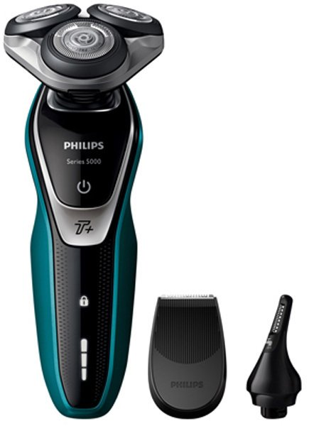 Philips S5550-44 Series 5000 Multiprecision Electric Shaver with Nose  Trimmer