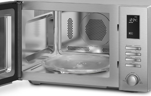 Smeg Sa34mx 34l Microwave Oven With Grill 1000w Appliances Online