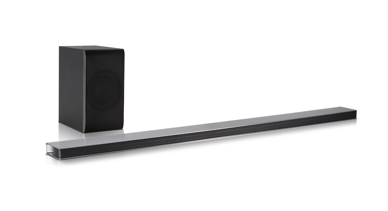 new lg sj8 2 1 ch wireless ultra slim soundbar with bluetooth ebay
