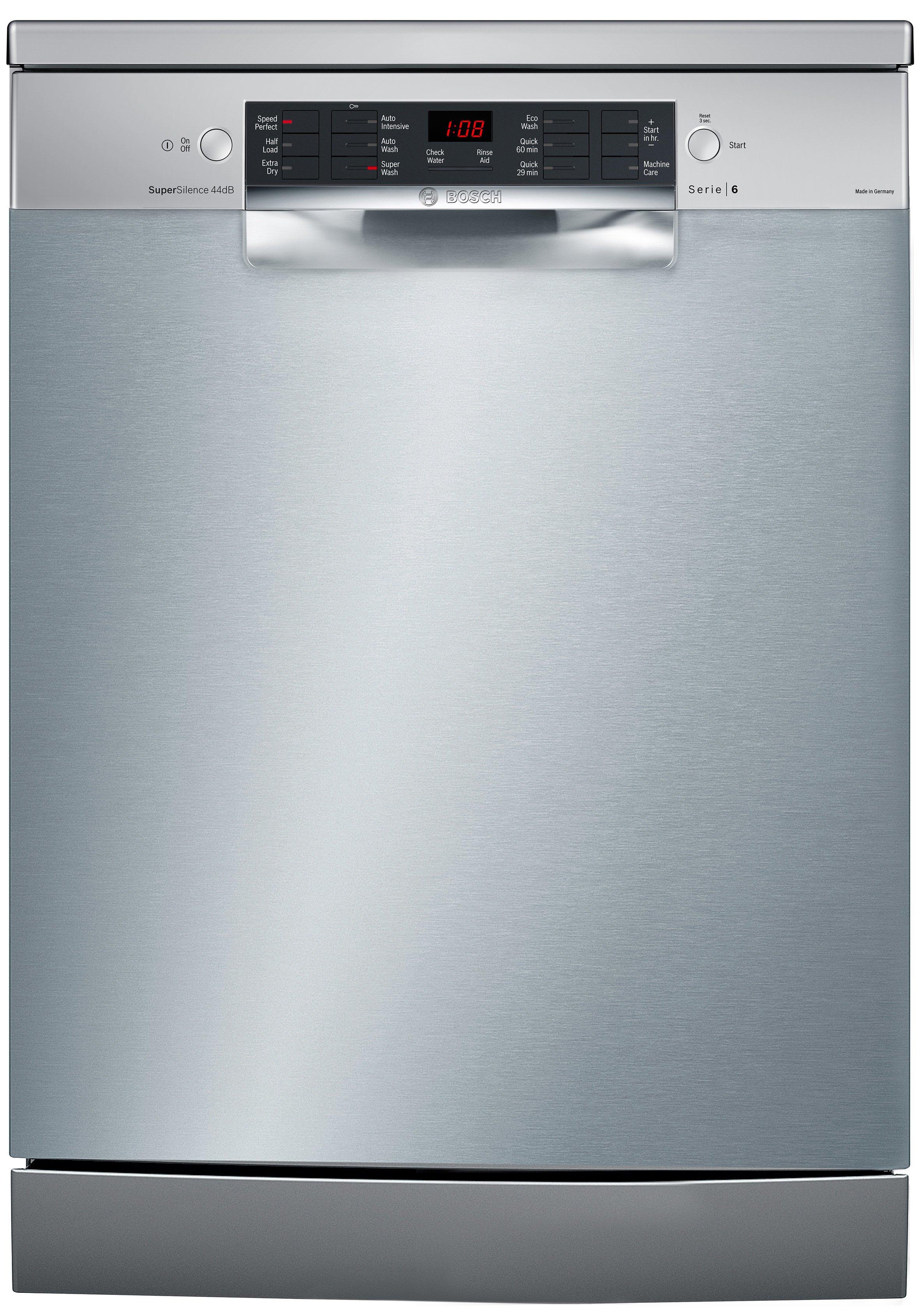 Bosch SMS66MI02A Serie 6 Freestanding Dishwasher | Appliances Online