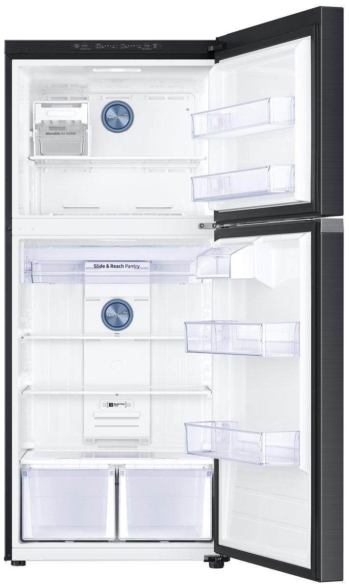 samsung sr520blstc 526l top mount fridge
