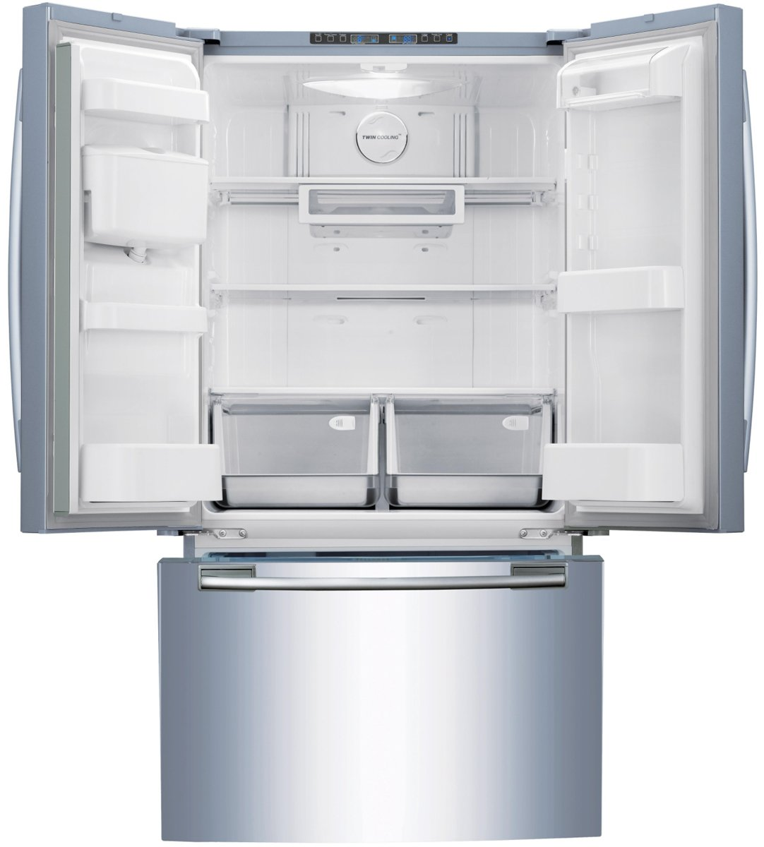 Samsung srf579dls 579l french door fridge appliances online samsung srf579dls 579l french door fridge unfortunately this product is not available product video rubansaba