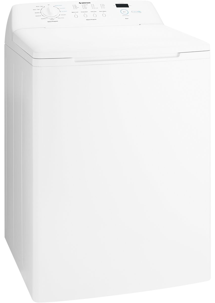 Simpson SWT7542 7.5kg Top Load Washing Machine. This product is not  available, but the good news is we have one very similar to it!