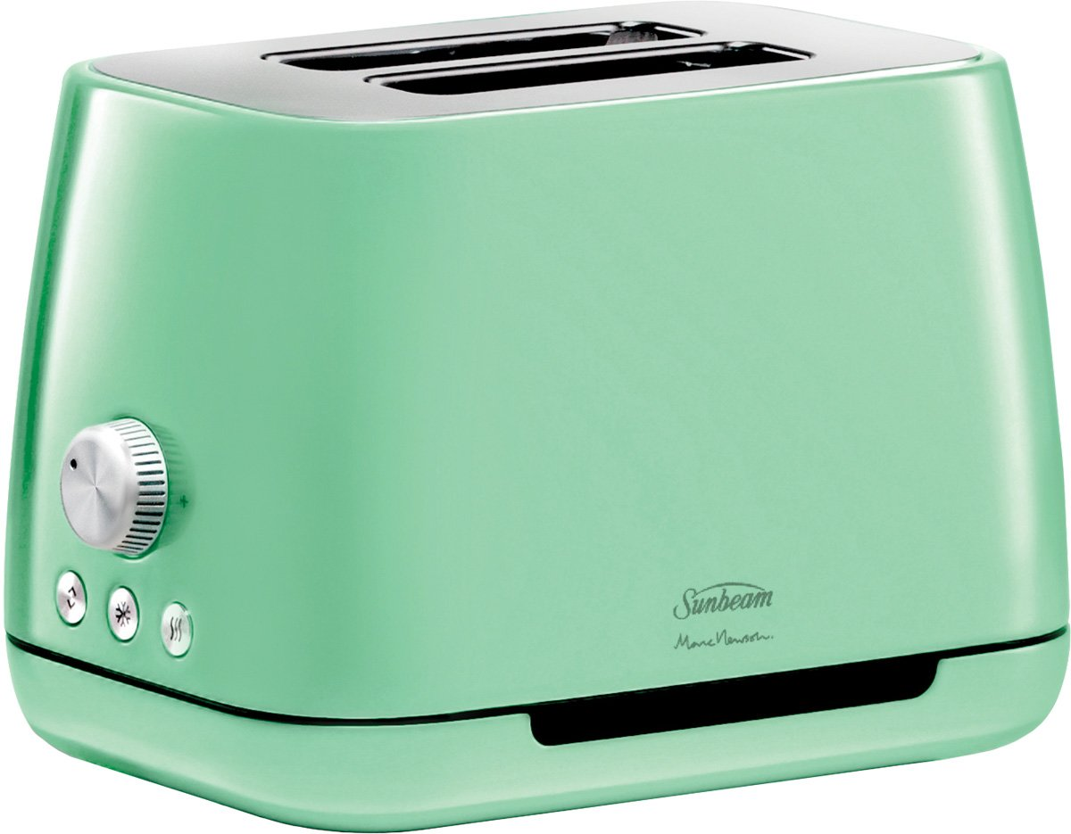 Sunbeam TA8820G Marc Newson Toaster Lucite Green | Appliances Online