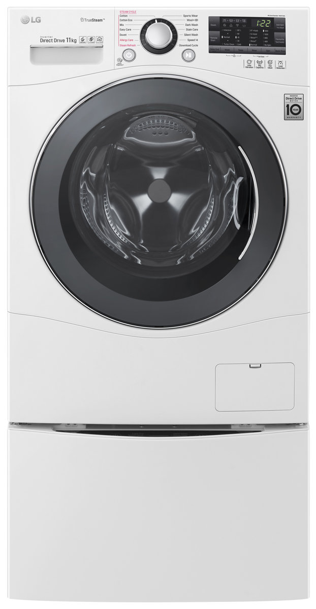 Lg Twin171411b 11kg Front Load Washing Machine With 20kg Mini