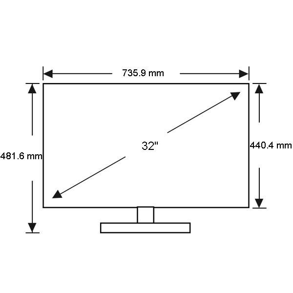 Samsung Ua32j4100 32 Inch 81cm Hd Led Lcd Tv Appliances Online