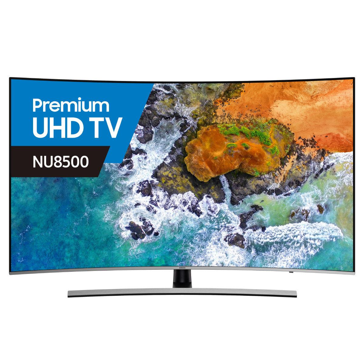 6545cf31c27 Samsung UA55NU8500 55 Inch 139cm Smart 4K Ultra HD Curved LED LCD TV ...
