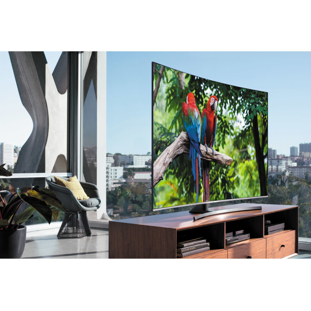 Samsung UA65NU8500 65 Inch 165cm Smart 4K Ultra HD Curved LED LCD TV