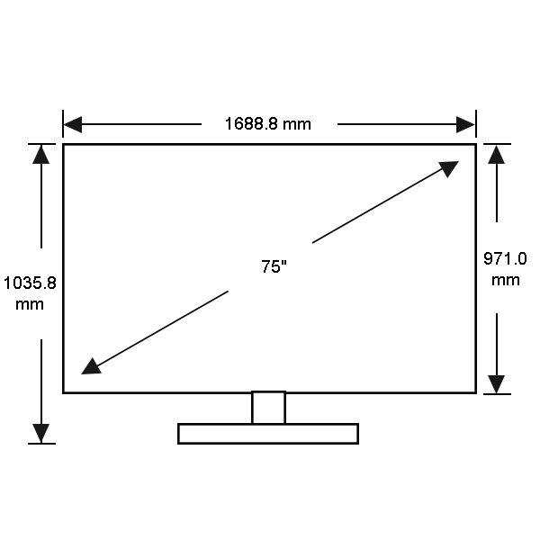 Samsung Ua75ju7000 75 Inch 190cm 4k Ultra Hd Smart 3d Led Lcd Tv