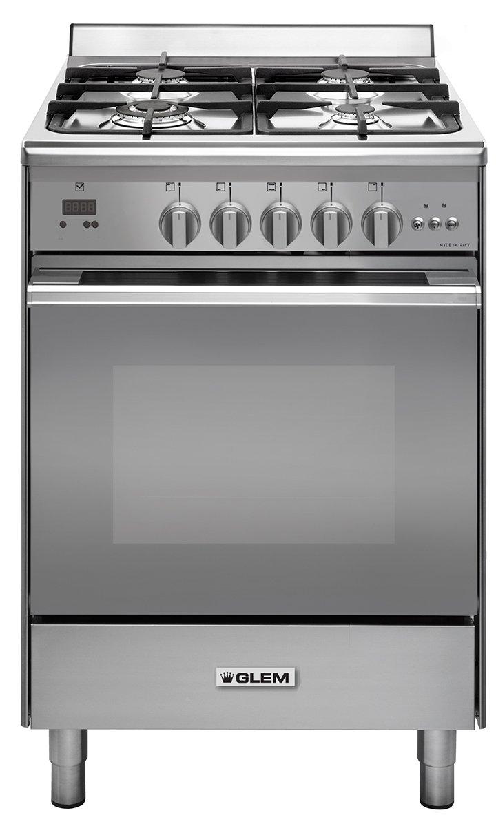 Glem UN664MVI 60cm Freestanding Natural Gas Oven/Stove | Appliances ...