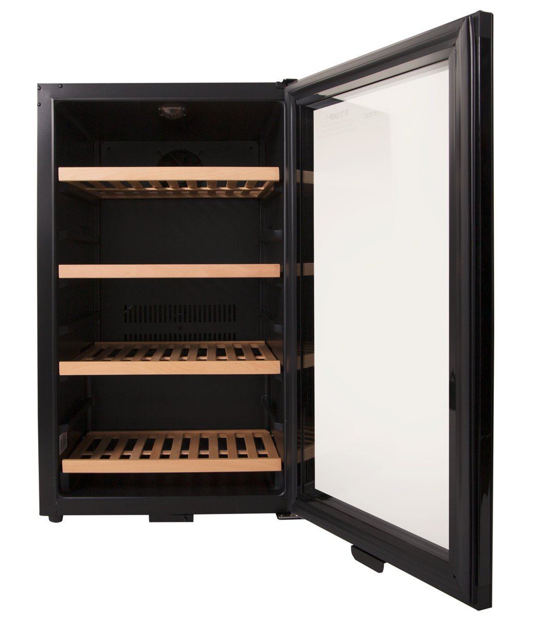 Product Video  sc 1 st  Appliances Online & Vintec V30SGMEBK 35 Bottles Wine Storage Cabinet | Appliances Online