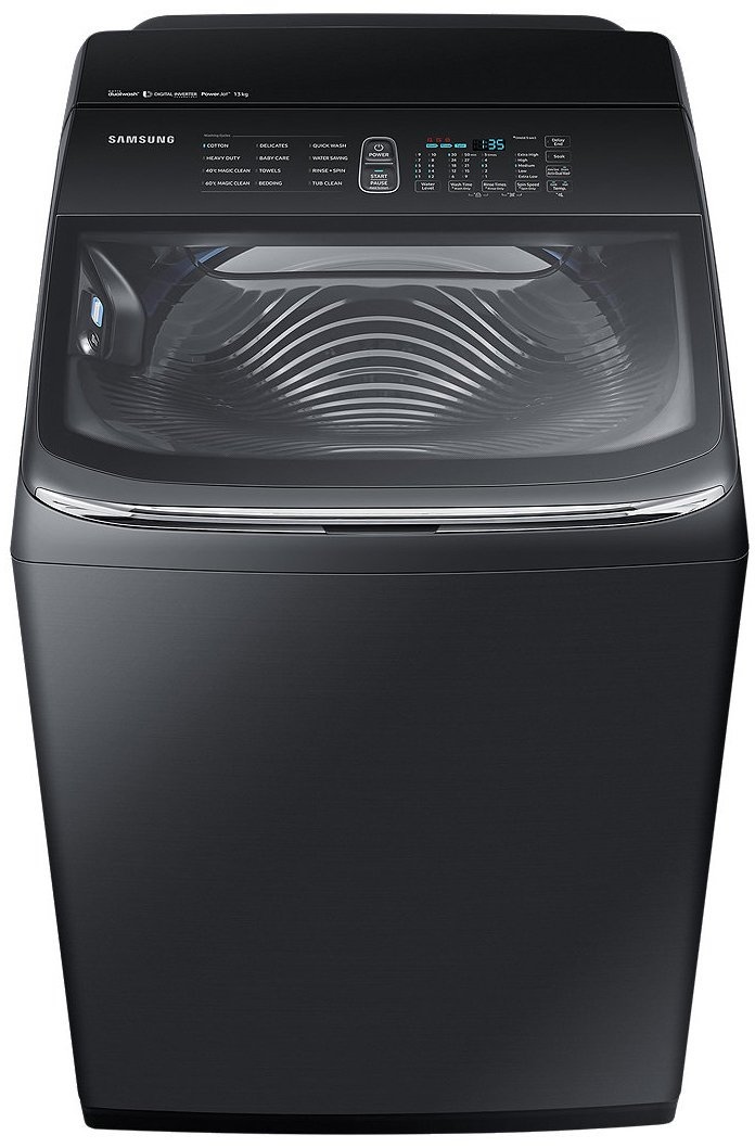 bef552566d9c00 Samsung WA11M8700GV 11kg Activ DualWash Top Load Washing Machine    Appliances Online