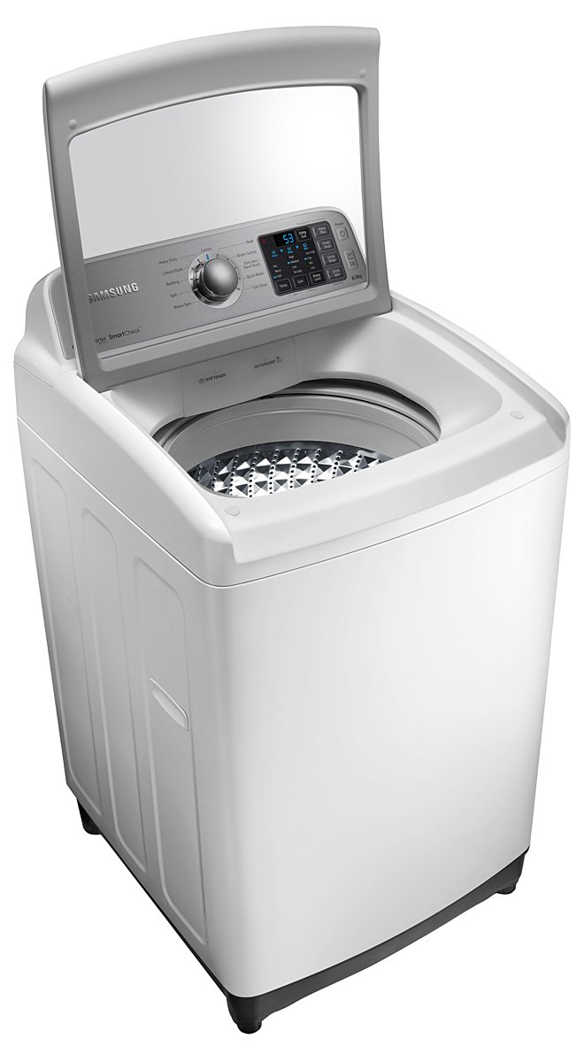 New Samsung Wa80f5g4djw 8kg Top Load Washing Machine