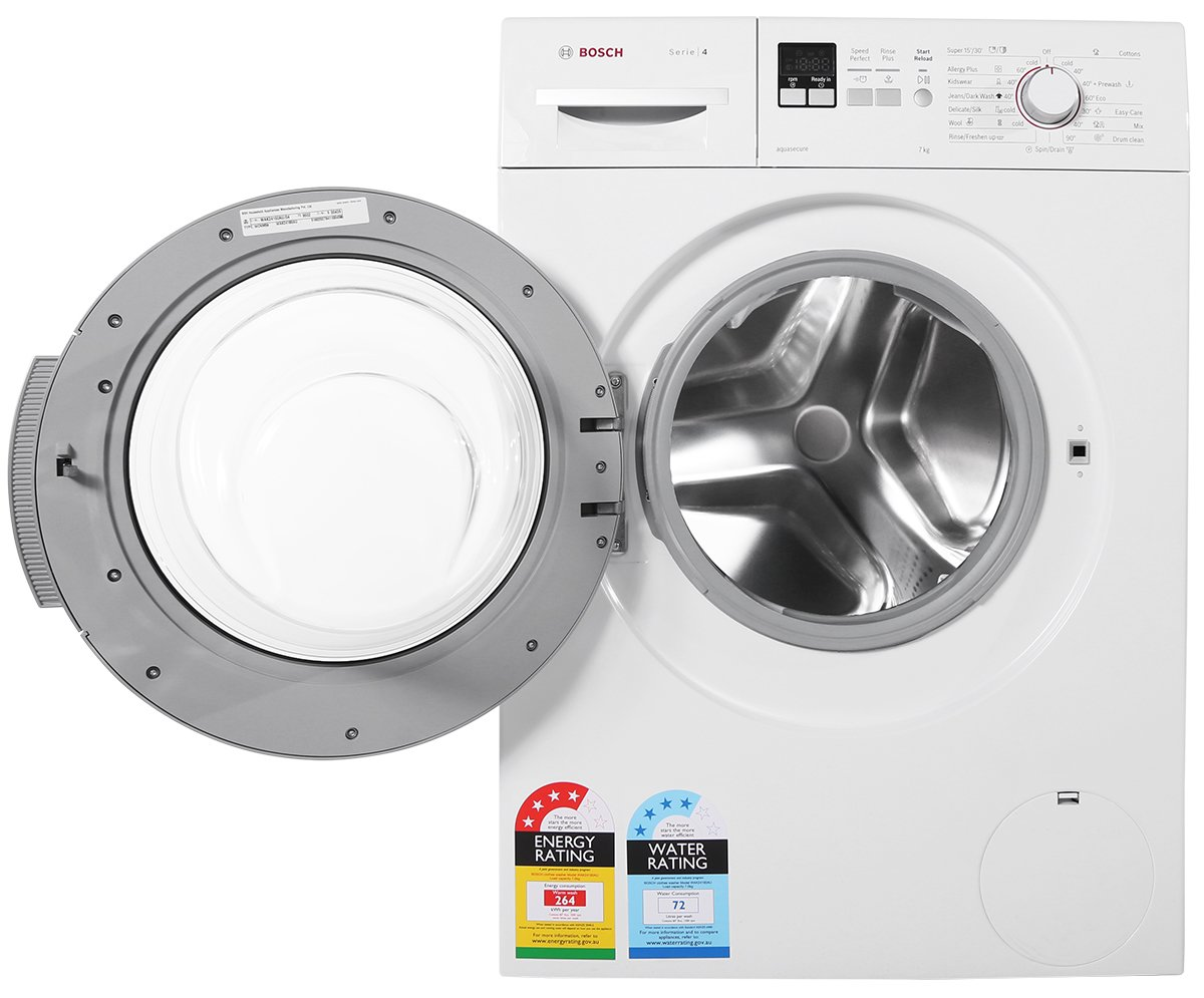 bosch front loader washing machine instructions