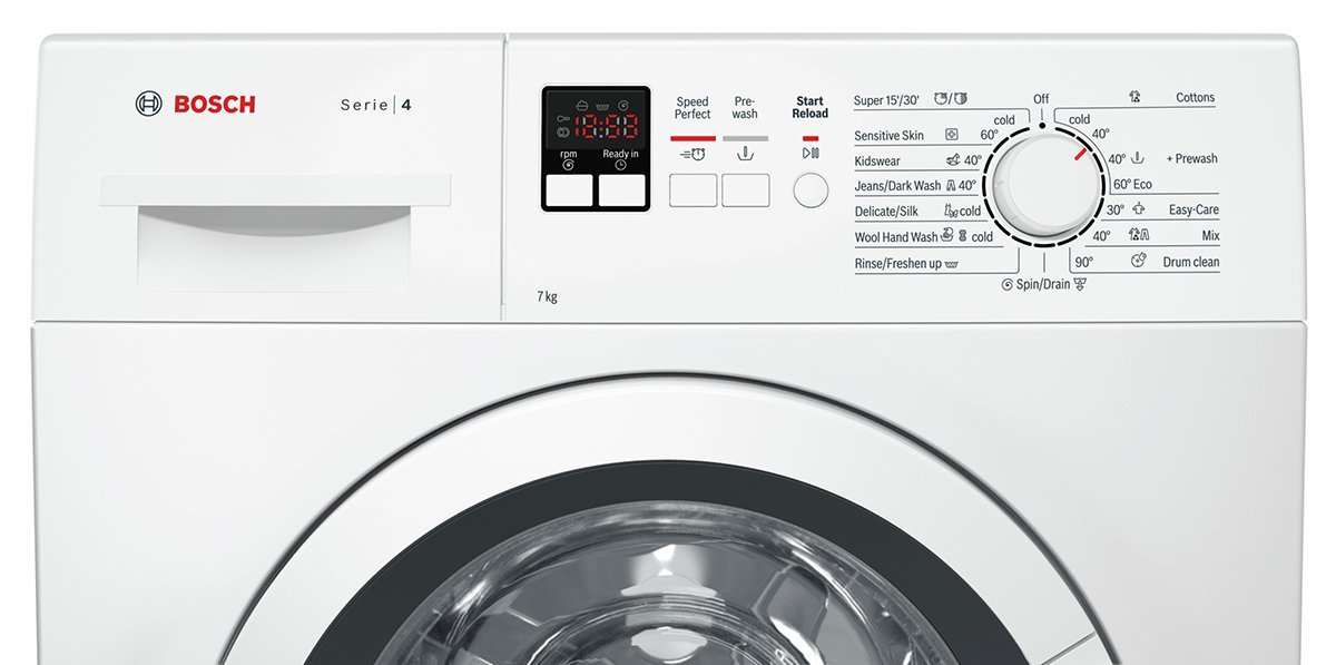 New Bosch Wak24162au 7kg Front Load Washing Machine