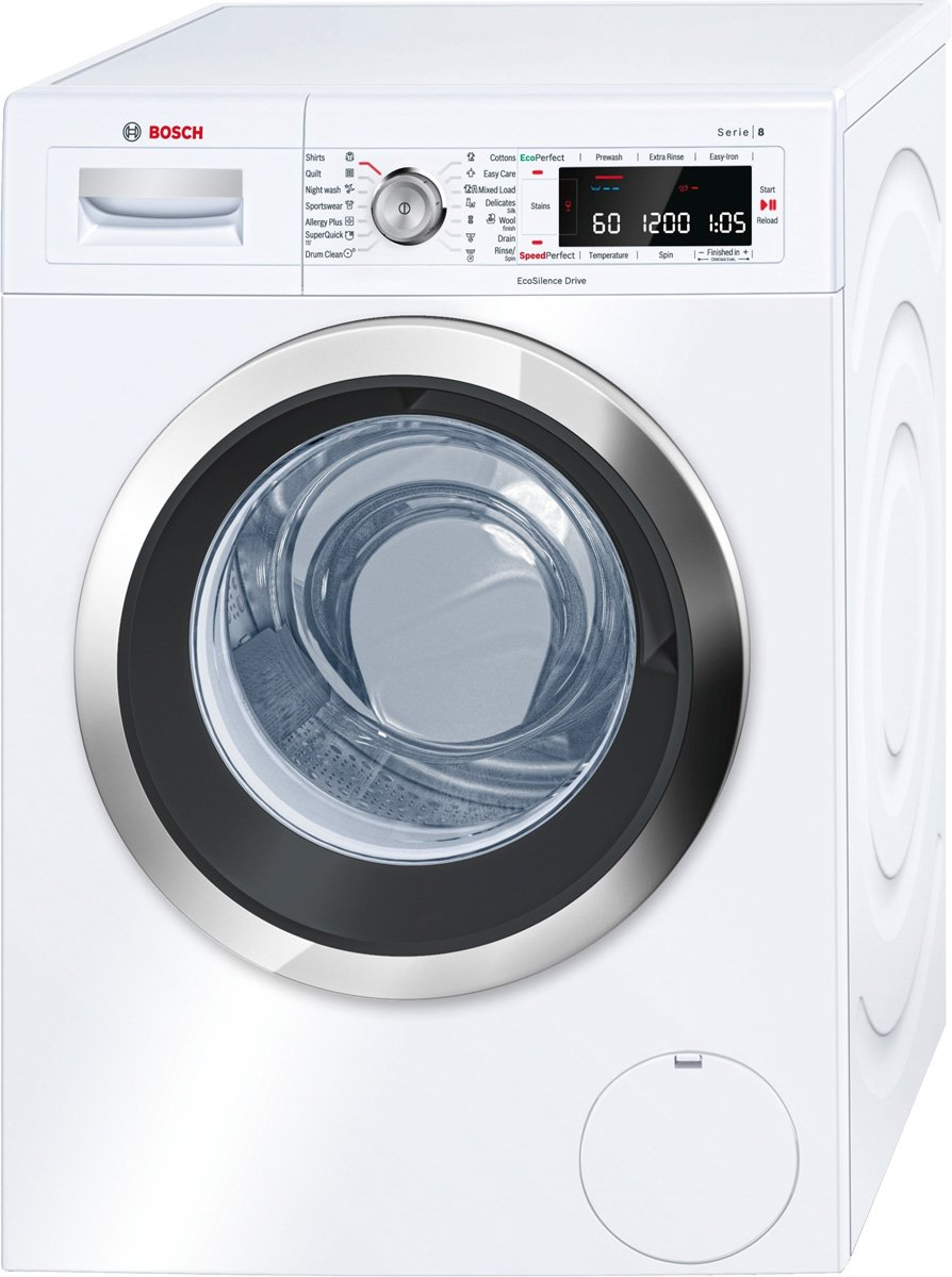 bosch waw28540au front loading washing machine. Black Bedroom Furniture Sets. Home Design Ideas