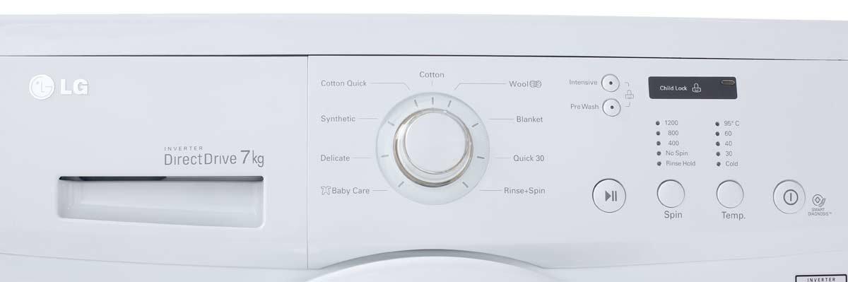 New Lg Wd1200d 7kg Front Load Washing Machine Ebay