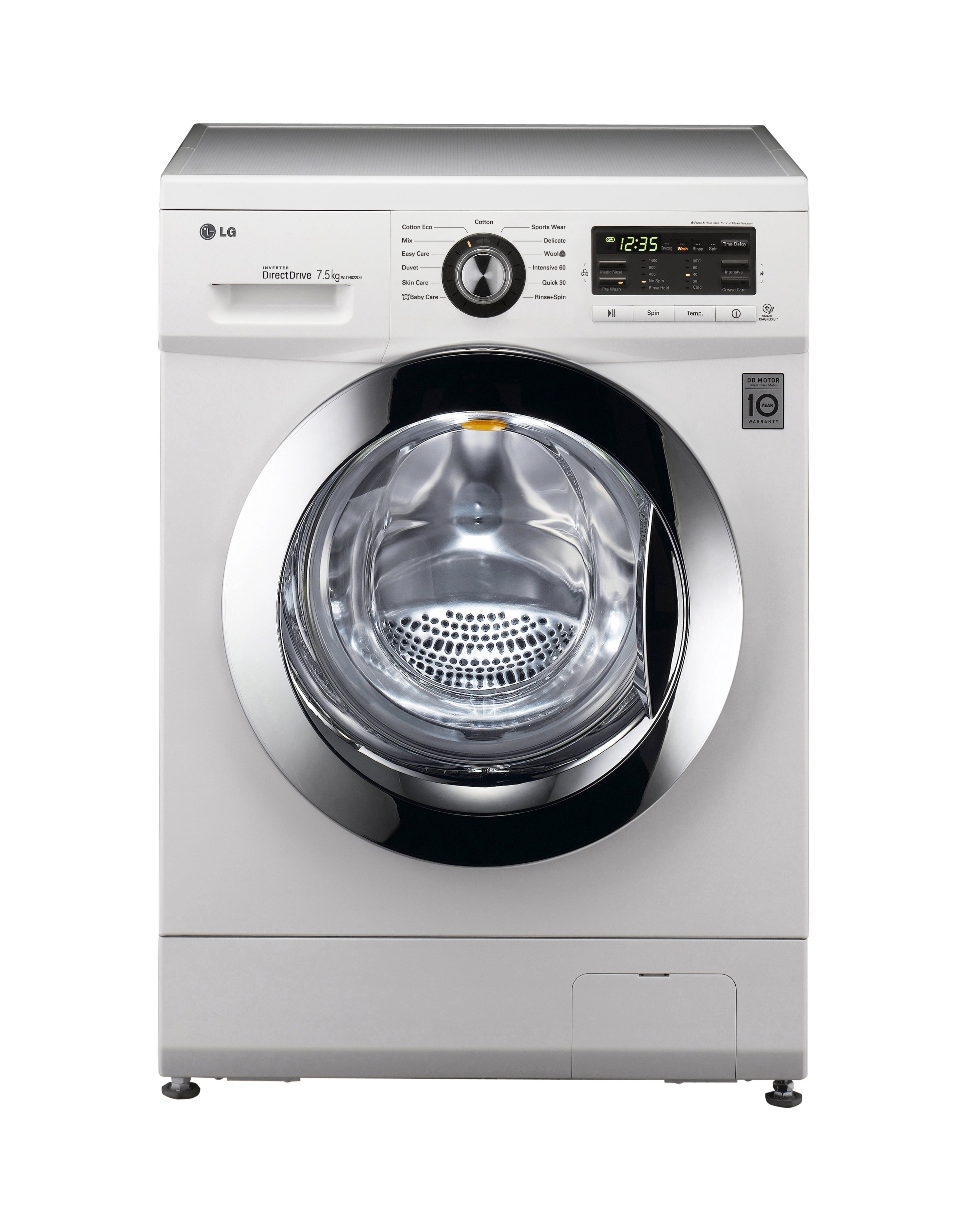 LG WD14022D6 7.5kg Front Load Washing Machine. Unfortunately, this product  is not available.