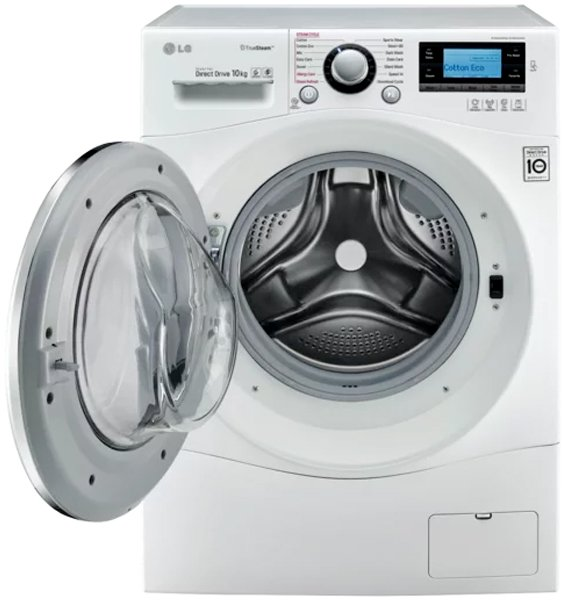 Lg Wd1410sbw 10kg Front Load Washing Machine Appliances Online