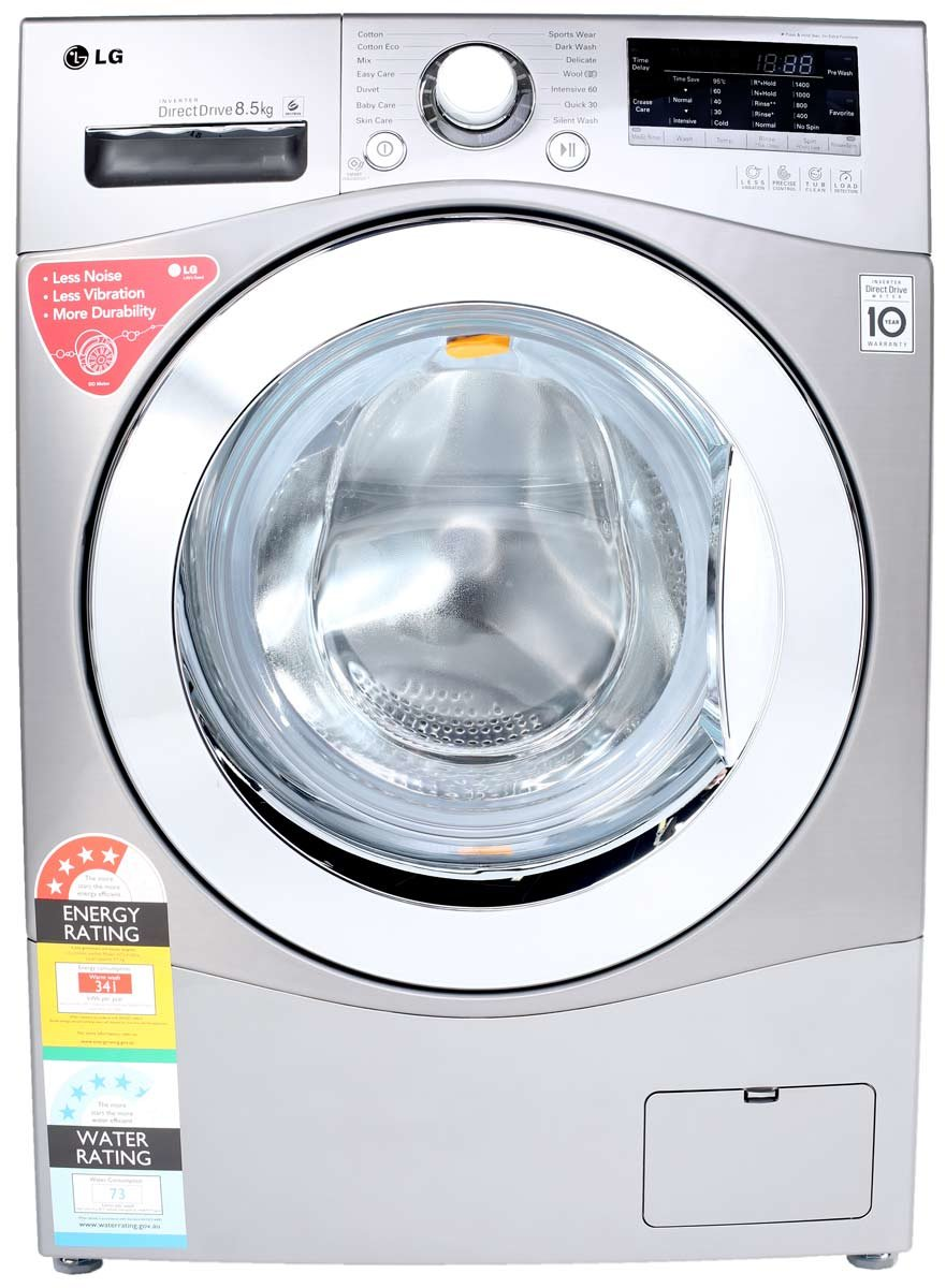 how to open front load washing machine