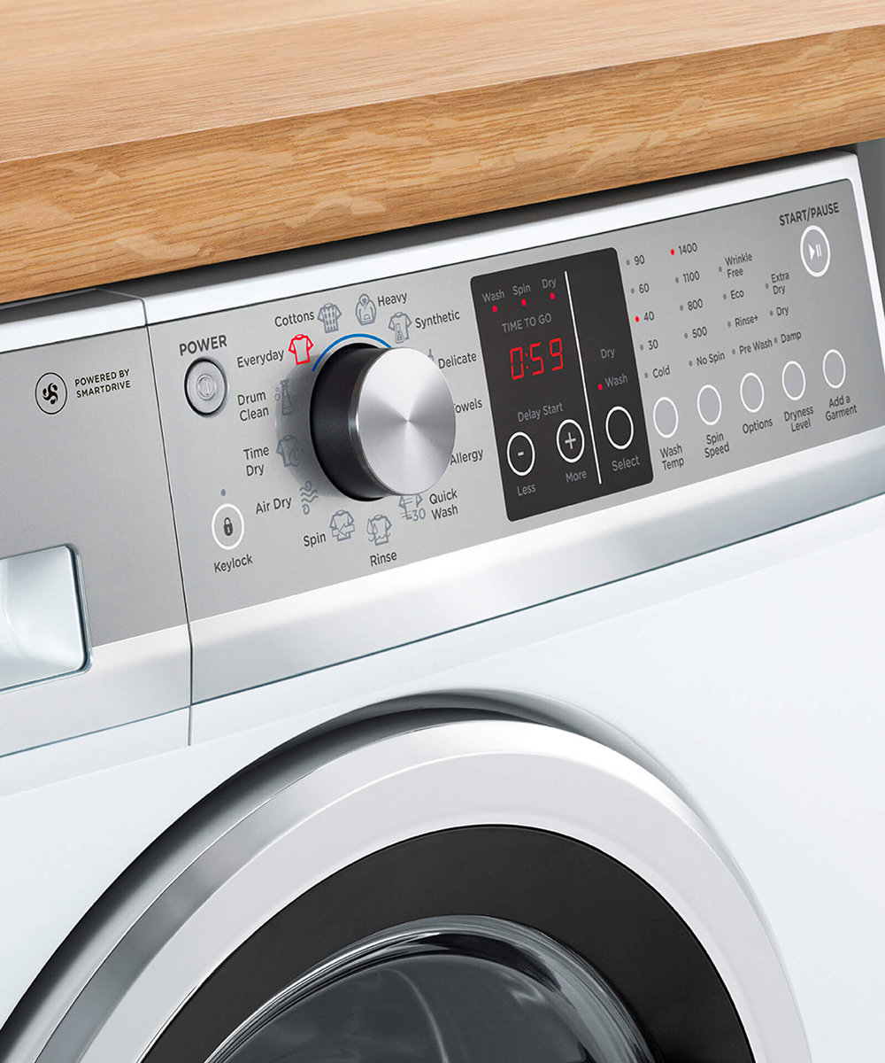 Fisher Paykel WD8560F1 85kg Washer 5kg Dryer Combo Appliances