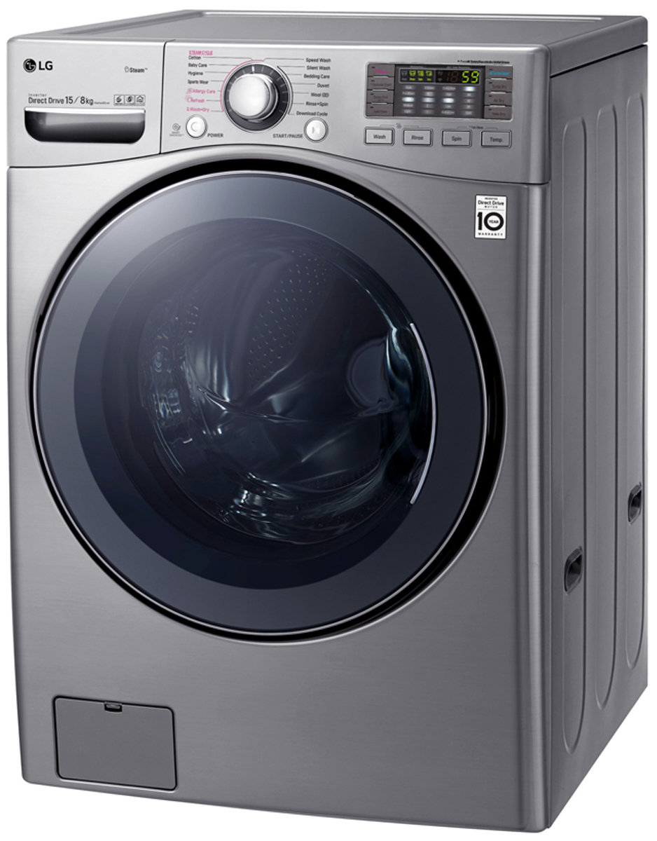 Lg 15kg 8kg Washer Dryer Combo With True Steam Wdc1215hsve Appliances Online