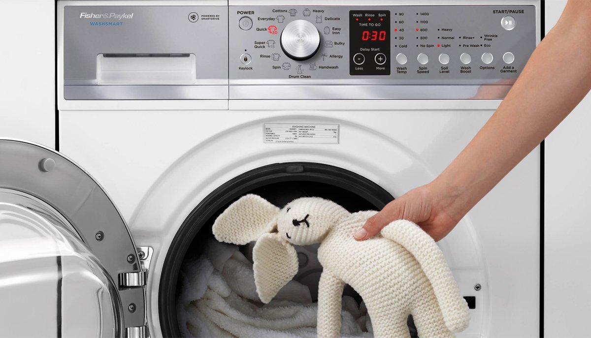 NEW Fisher & Paykel 8.5kg WashSmart Front Load Washing ...