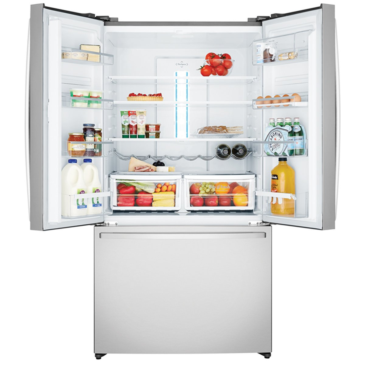 Westinghouse Whe6000sa 605l French Door Fridge Appliances Online Block Diagram For Temperature Control In A Refrigerator