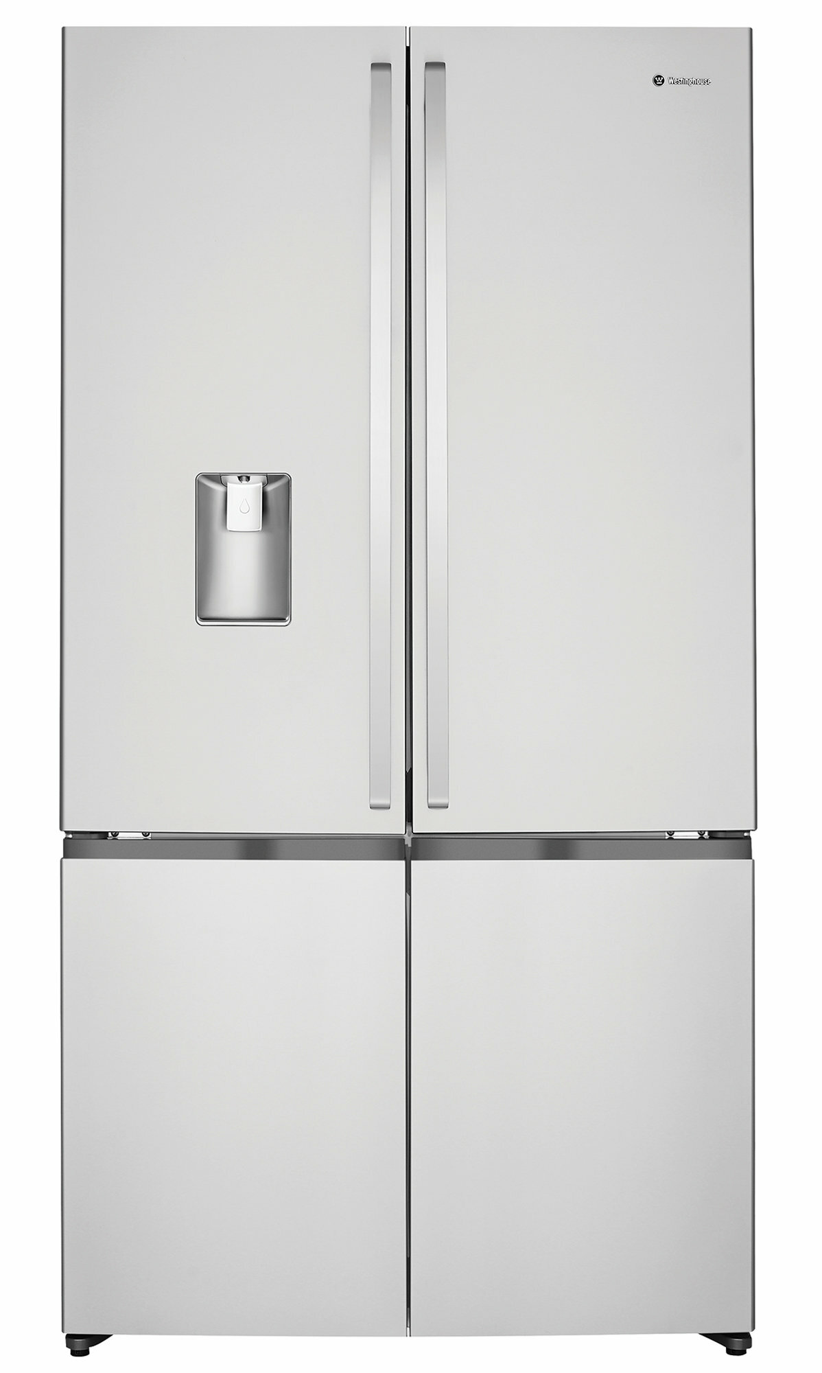 Westinghouse 600l French Door Fridge With Ice Maker And Water Dispenser Appliances Online