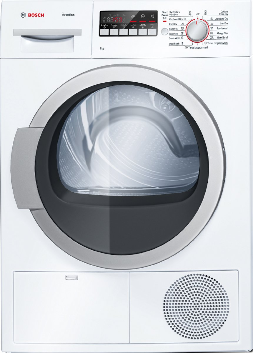new bosch wtb86200au serie 4 8kg condenser dryer ebay. Black Bedroom Furniture Sets. Home Design Ideas