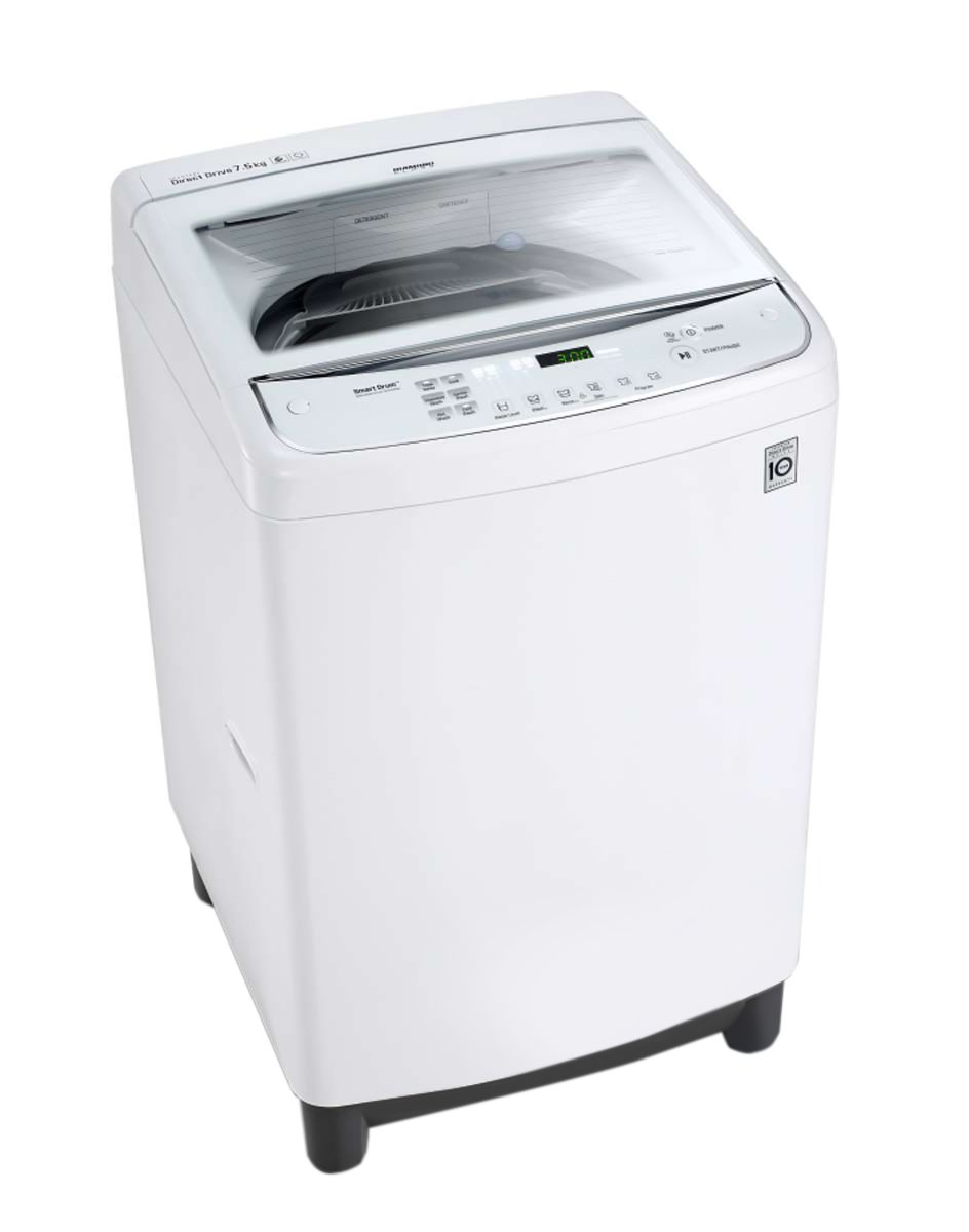 NEW LG WTG7532W 7.5kg Top Load Washing Machine ...