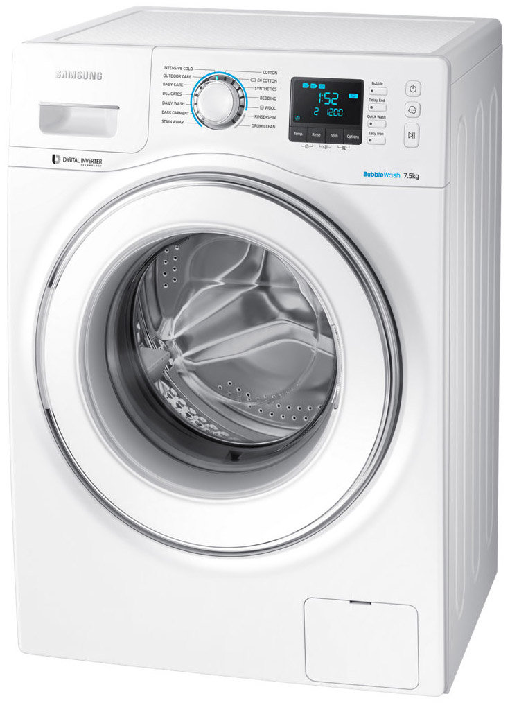 Samsung WW75H5400EW 7.5kg Front Load Washing Machine on
