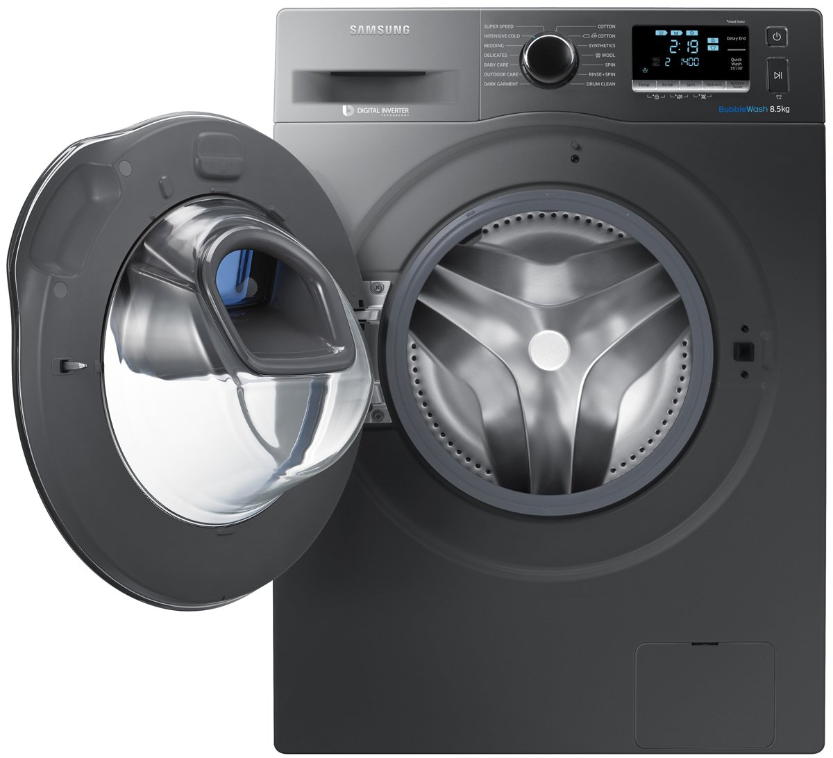 New Samsung Ww85k6410qx Addwash 8 5kg Front Load Washing