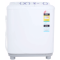 Haier XPB60-287S 6kg Top Load Twin Tub Washing Machine