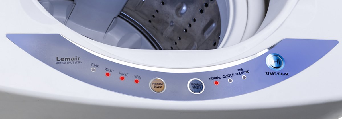 Lemair XQB22 2.2kg Top Load Washing Machine - Control Panel