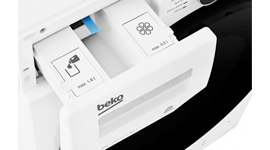 Beko 8.5kg Front Load Washing Machine with Autodose - Model: BFL853ADW