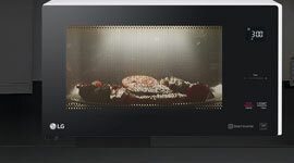 LG MS4296OWS- LG MS4296OWS NeoChef Smart Inverter 1200W Microwave Oven