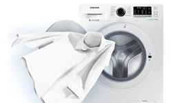 Samsung 7.5kg BubbleWash Front Load Washing Machine with Steam WW75J54E0IW