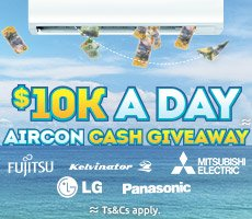 $10K A DAY air con cash giveaway!