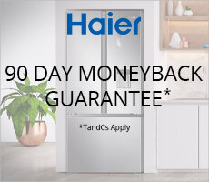 90 Day Money Back Guarantee with Haier